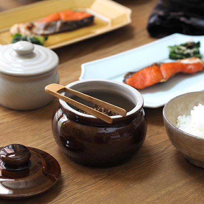 えんける道具店 加藤さんのつくる甕(かめ) 2合 茶