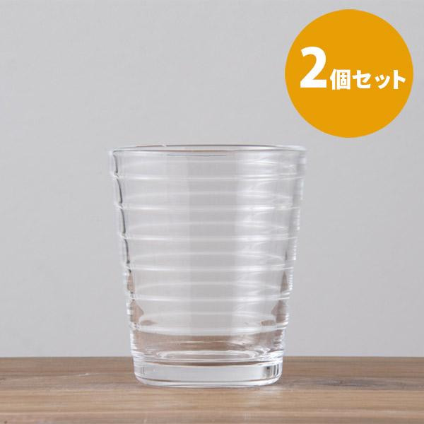 【2個セット】イッタラ アイノ・アアルト タンブラー クリア