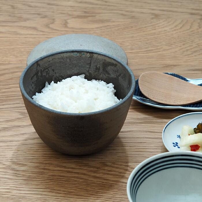 ココチ舎 焼締 陶おひつ 1合
