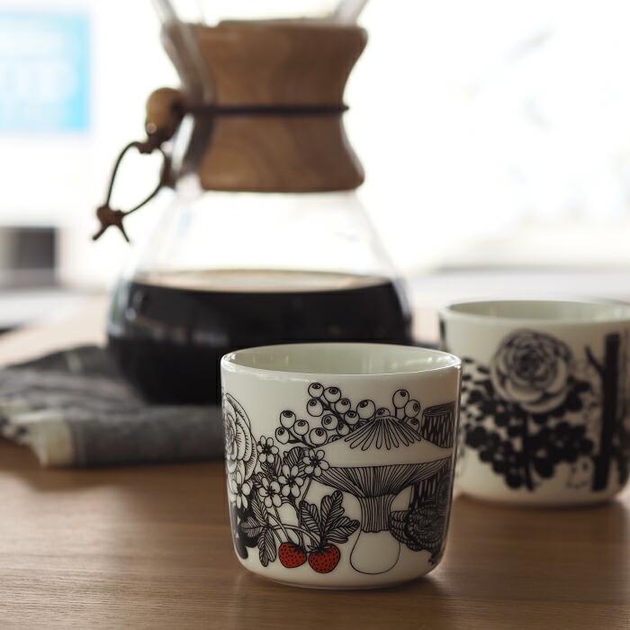 ■【2個セット】マリメッコ コーヒーカップ 200ml 取っ手なし ヴェルイェクセトゥ