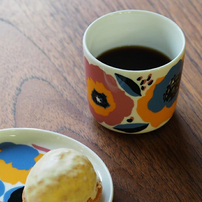 マリメッコ コーヒーカップ 200ml 取っ手なし ロサリウム