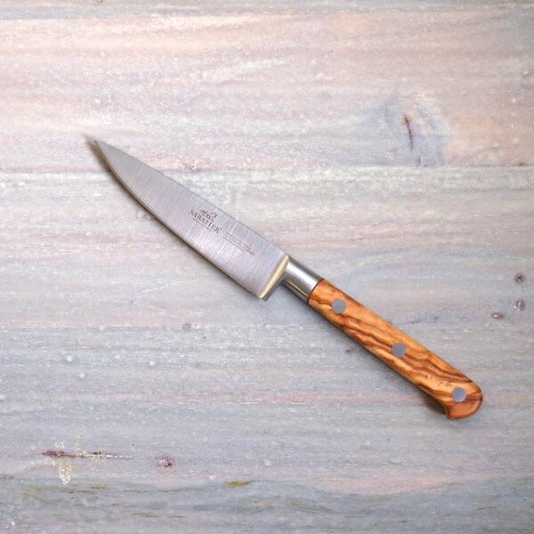 サバティエ Provencao ペティナイフ 10cm オリーブウッド / SABATIER