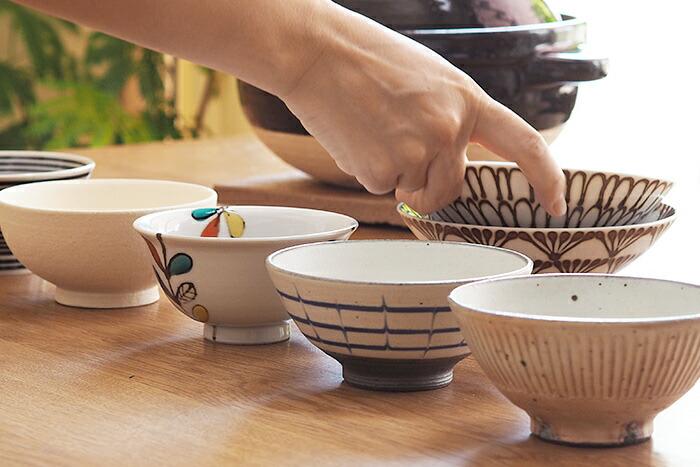 お茶碗を変える
