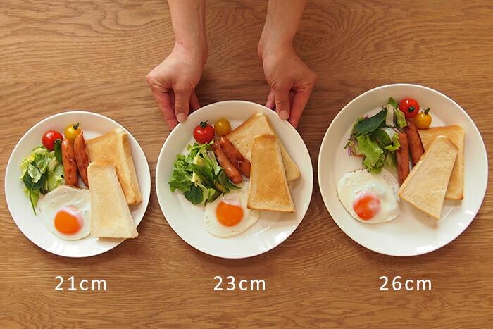 ティーマプレート比較 朝食