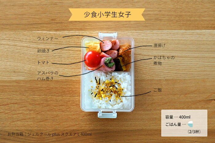 THE LUNCH BOX,子供のお弁当箱
