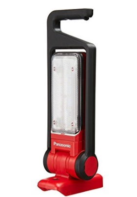 限定レッド 工事用充電LEDマルチ投光器 EZ37C3-R