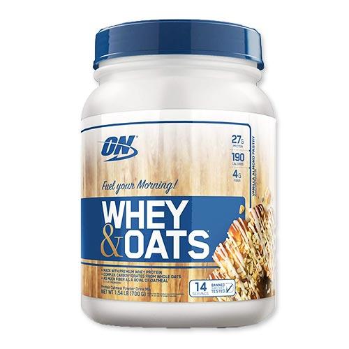 プロテインオートミールパウダー ホエイ&オーツ バニラアーモンドペストリー 14回分 700g Optimum Nutrition