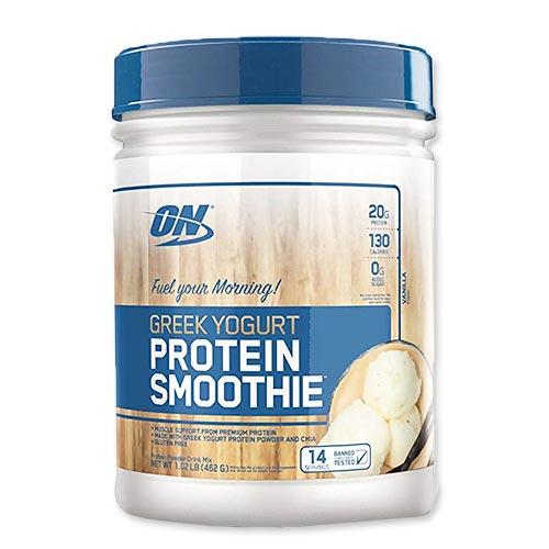 ギリシアヨーグルトプロテインスムージーパウダー バニラ味 462g Optimum Nutrition