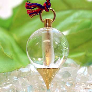 ヒマラヤ水晶ペンデュラム