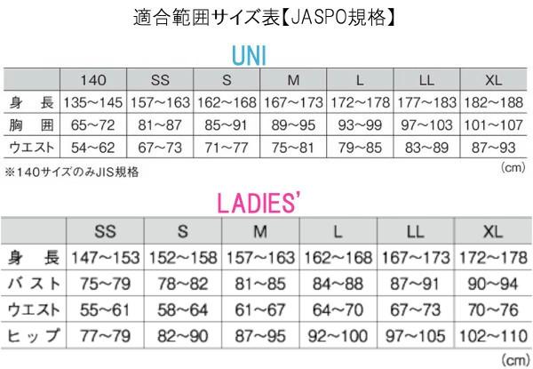 GOSENサイズ表