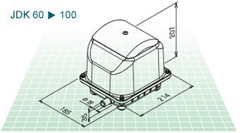 JDK60-100寸法