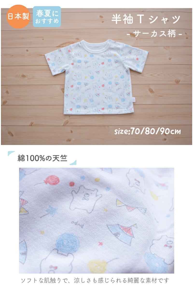 半袖Tシャツ説明1
