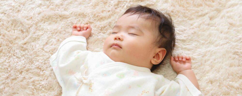 日本製ベビー服PUPOの肌着を着て赤ちゃんがスクスク育ちますように