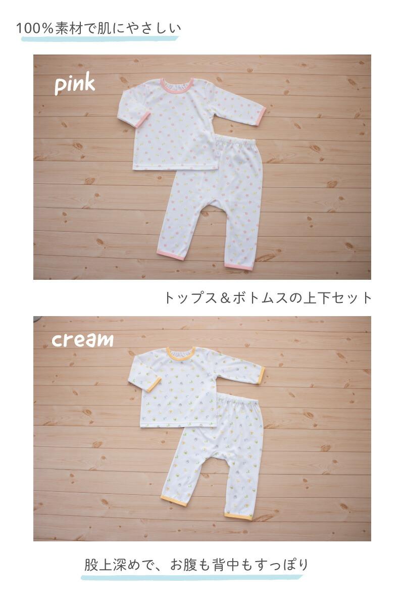 スムースパジャマ説明2