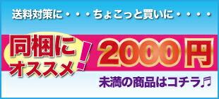 2000円以下小額商品