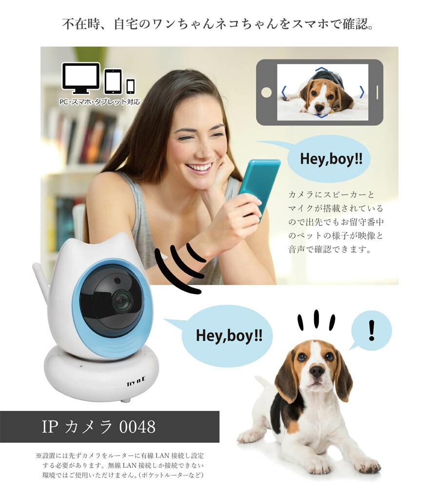 ペットの見守りカメラ