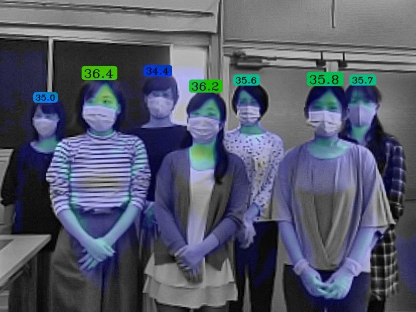 顔識別AI