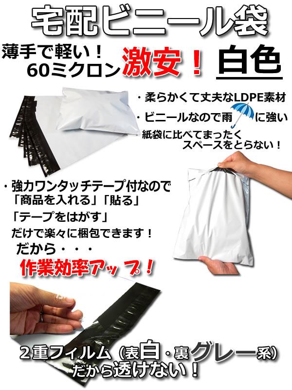 巾250×高325+フタ50mm 色 白