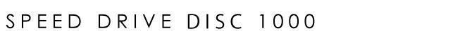 CENTURION(センチュリオン) 2017年モデル SPEEDDRIVE DISC 1000 (スピードドライブディスク1000)