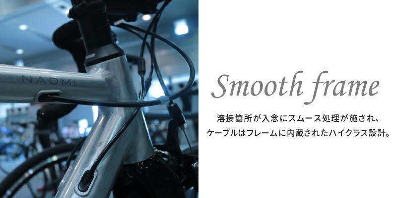 FUJI(フジ)2019年モデル NAOMI(ナオミ)ポリッシュアルミニウム