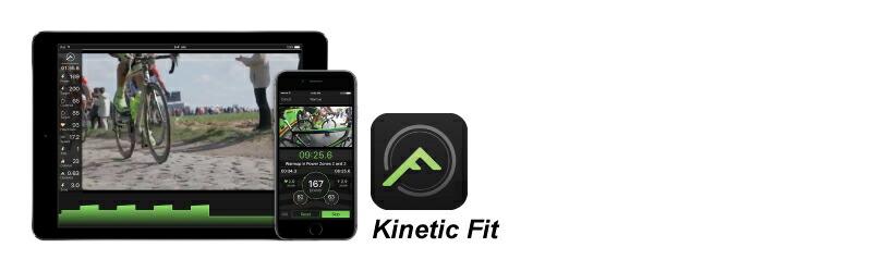 Kinetic Fitアプリ、KINETIC(キネティック)R1(アールワン)スマートトレーナー、ダイレクトドライブ式