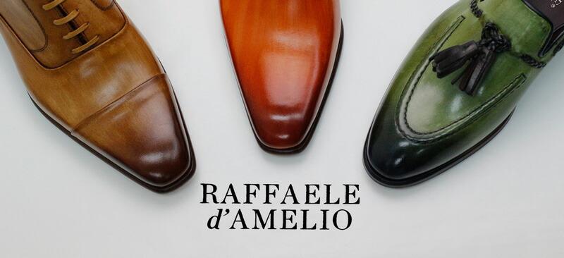 RAFFAELE d'AMELIO / ラファエレダメリオ Made in Italy/イタリア製