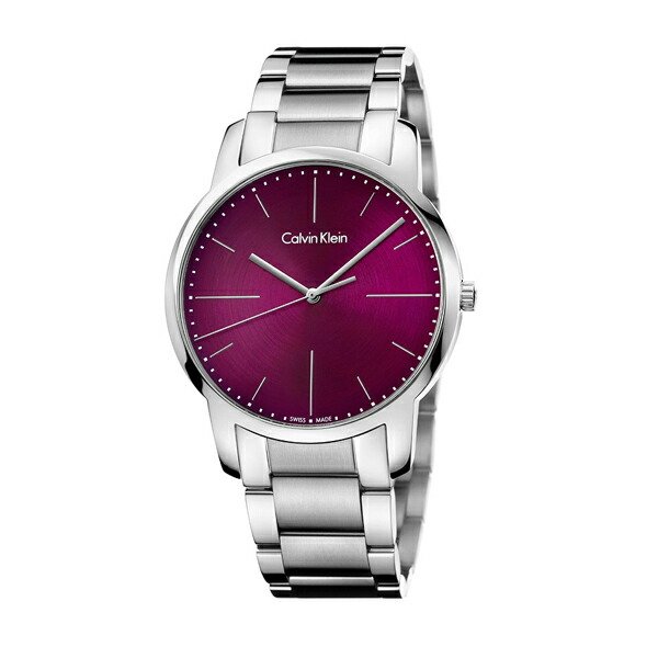 Calvin Klein カルバン・クライン ウォッチ city 【国内正規品】 腕時計 メンズ K2G2G1Z3 レッド