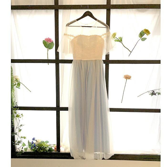 ブライズメイド ドレス ロング パーティードレス 結婚式 二次会 花嫁