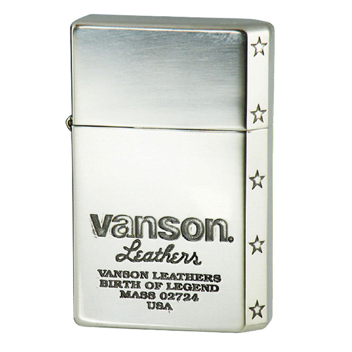 オイルライター 名入れ 日本製  GEAR TOP ギアトップ VANSON バンソン ロゴデザイン シルバー V-GT-05 名入れ ギフト