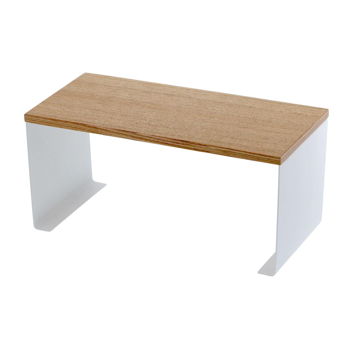 キッチンラック ディッシュラック 木製 コの字 キッチンコの字ラック トスカ 03922
