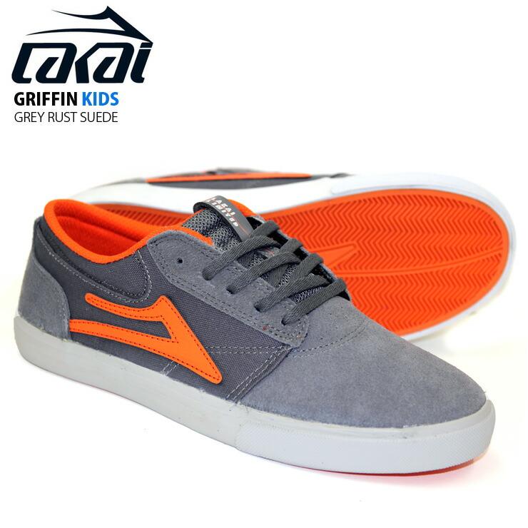 Lakai Mens Griffin Kids Shoes Athletic