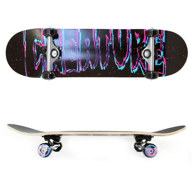 "3D Logo Mini 7.75/"" Creature Complete Skateboard"