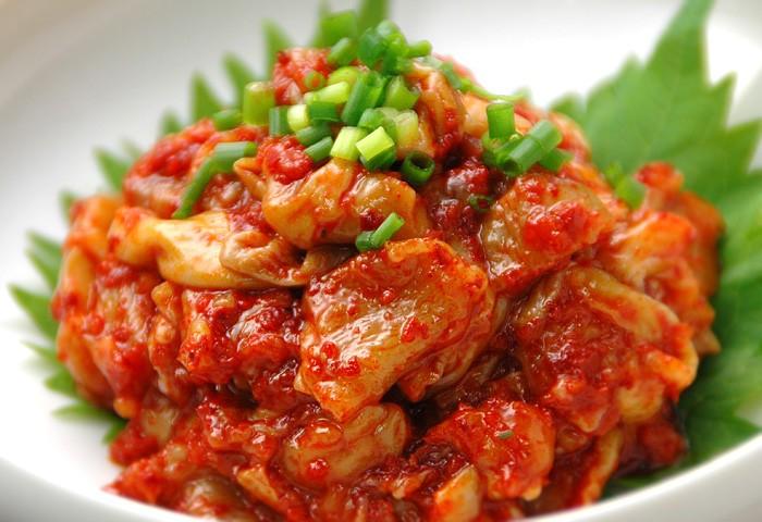 楽天市場】やめられない止まらない!韓国珍味 > 珍味の王様チャンジャ:韓国世界のグルメ@キムチでやせる
