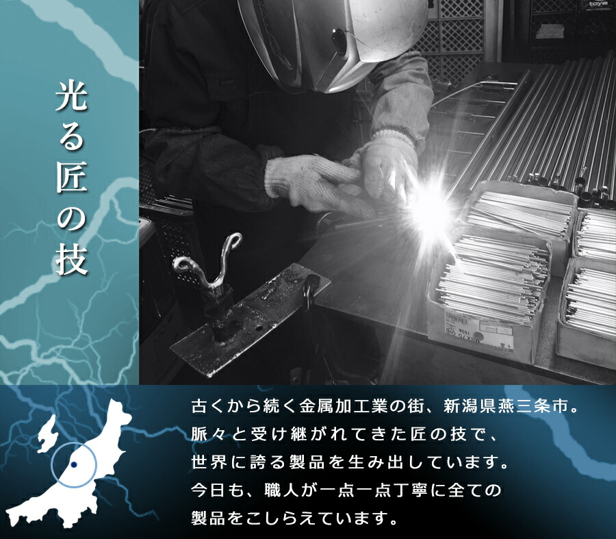 燕三条 日本製 職人技