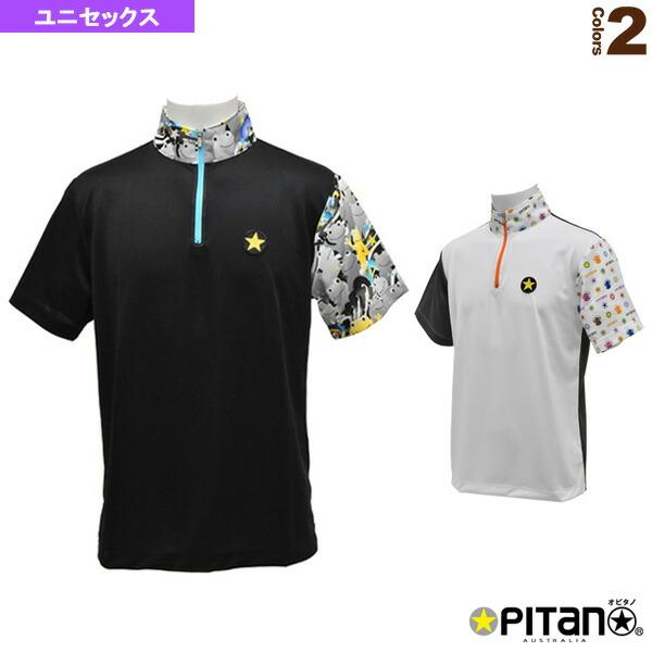 UVカット&クール・ジップアップシャツCombi/ユニセックス(OPT-123)