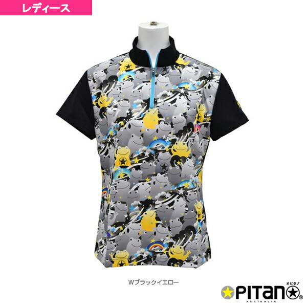 UVカット&クール・ジップアップシャツ/レディース(OPT-521)