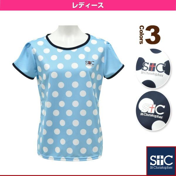 ポルカドットゲームTシャツ/レディース(STC-AGW2029)
