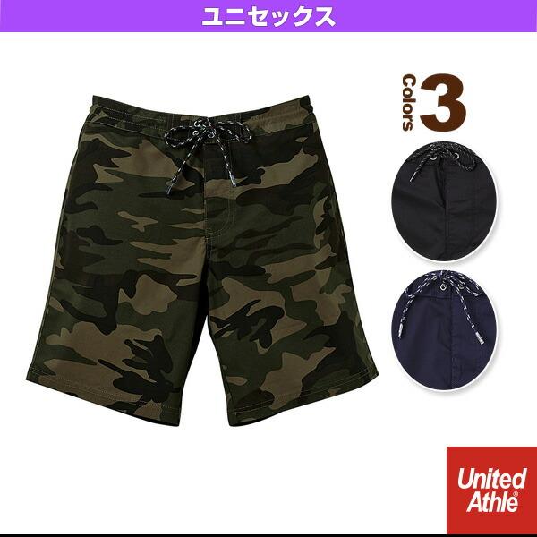 【5着以上より】ストレッチクロスショーツ/ユニセックス(1279-01)