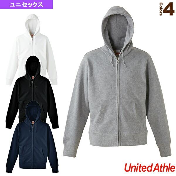 【5着以上より】12.7オンス スウェットフルジップパーカ/ユニセックス(5738-01)
