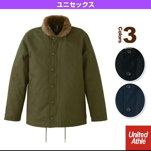 【5着以上より】コットンツイルデッキジャケット(中綿入)/ユニセックス(7487-01)