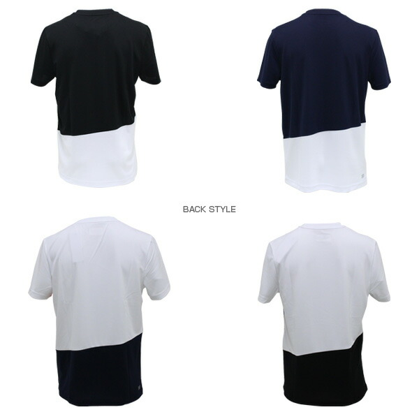 f5e31f4c7df04 [ラコステ テニス・バドミントン ウェア(メンズ/ユニ)]T-SHIRTS/Tシャツ/半袖/メンズ(TH2129)