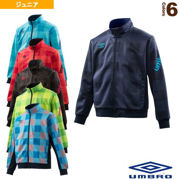 Jr. バッファローチェック トラックジャケット/ジュニア(UCA2748J)
