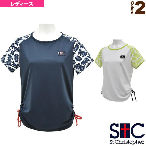 リーフスリーブ ゲームTシャツ/レディース(STC-AHW2073)