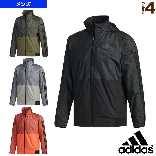 M adidas 24/7 ウインドブレーカー ジャケット 裏起毛/メンズ(FKK22)