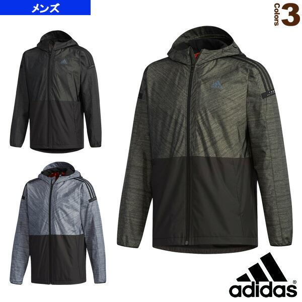 M adidas 24/7 ウインドパーカー 裏起毛/メンズ(FKK23)