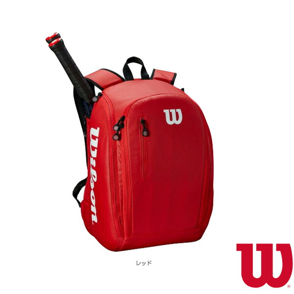 TOUR BACKPACK RED/ラケット2本収納可(WRZ847996)