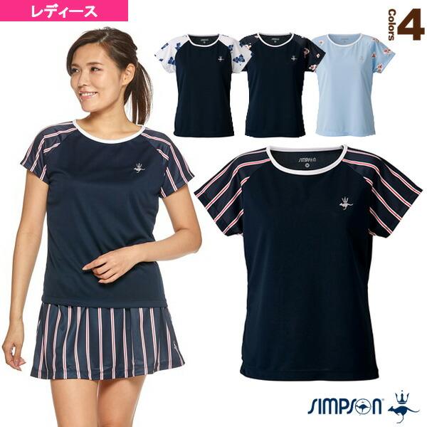 ラグランスリーブ ゲームシャツ/レディース(STW-92101)