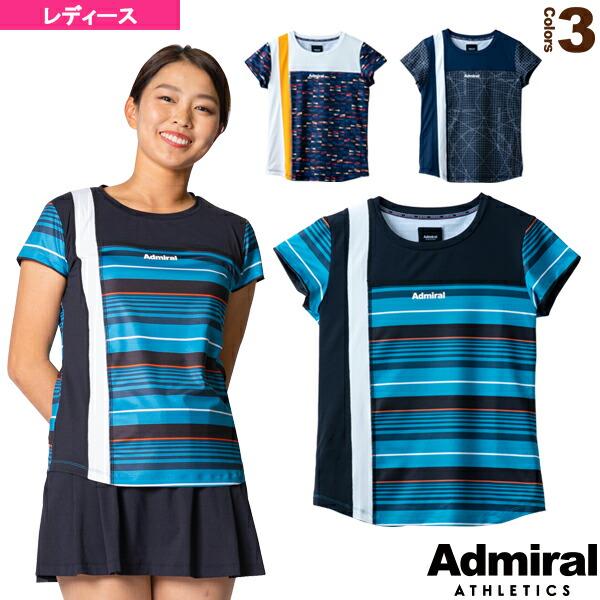 フロントライングラフィックTシャツ/レディース(ATLA134)