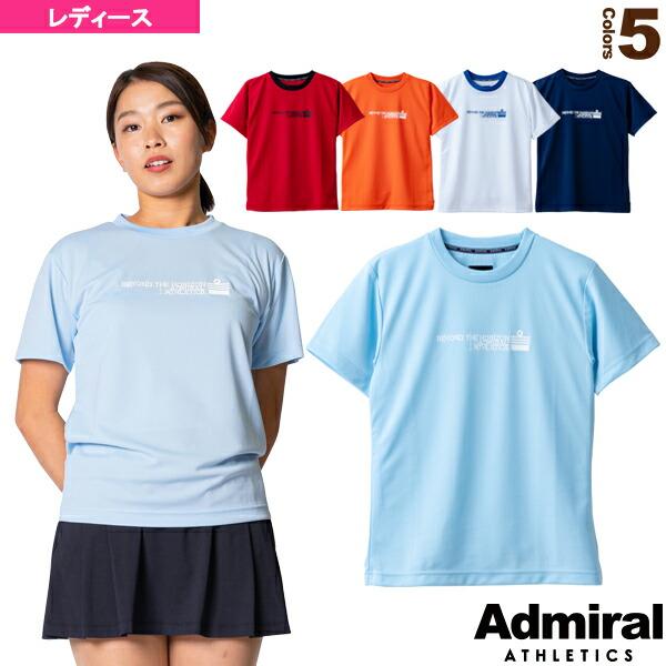 マッピングロゴTシャツ/レディース(ATLA136)