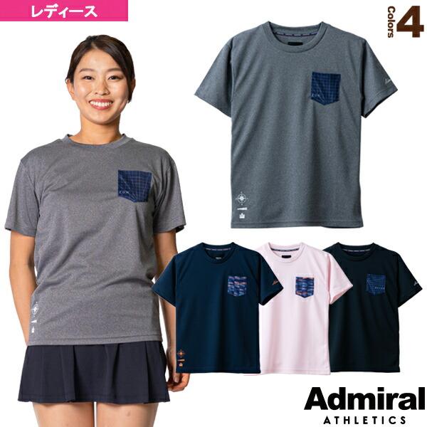 グラフィックポケットTシャツ/レディース(ATLA141)